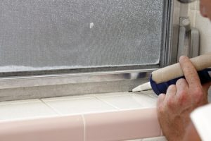 Installer Sealing Windows