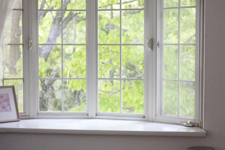 bay window in a house