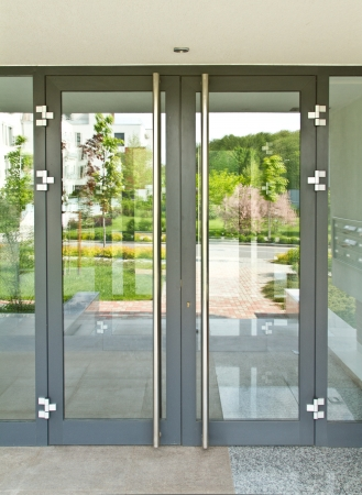 glass impact doors